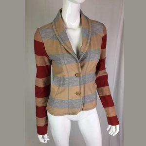 Anthropologie Saturday Sunday Striped Knit Blazer